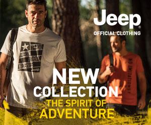 Nova coleção Jeep Outfitter já disponível